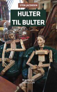 """Forside på novellesamlingen """"Hulter til bulter"""""""